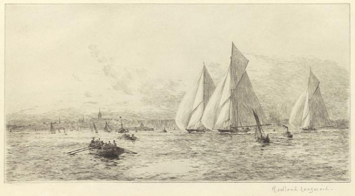 THE BIG CLASS RACING OFF RYDE, ISLE OF WIGHT