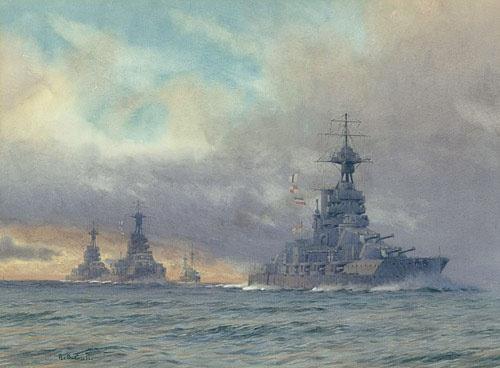 HMS EMPEROR OF INDIA, HMS MARLBOROUGH, HMS BENBOW