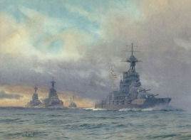HMS EMPEROR OF INDIA, HMS MARLBOROUGH, HMS BENBOW