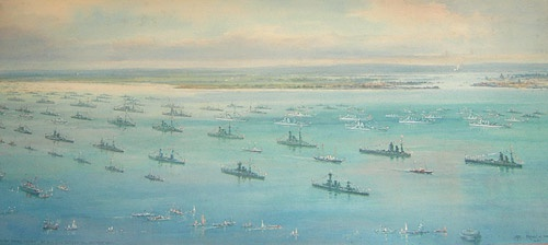 FLEET REVIEW 1937 - THE CORONATION REVIEW OF HM KI