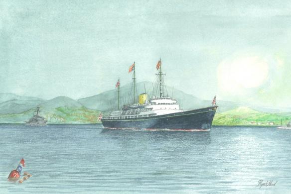 HMY BRITANNIA - THE FINAL WESTERN ISLES CRUISE 199