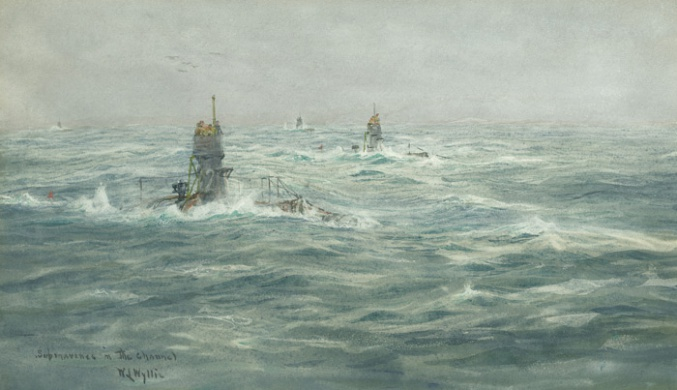 SUBMARINES IN THE CHANNEL