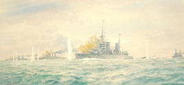 BATTLECRUISERS IN ACTION WWI