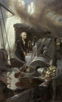 BOY CORNWELL VC - A STUDY OF THE JUTLAND HERO BY F