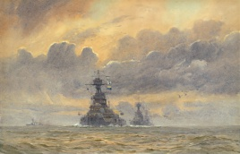 IRON DUKE CLASS DREADNOUGHTS AT SEA