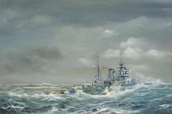 HMS QUEEN ELIZABETH 1941  44