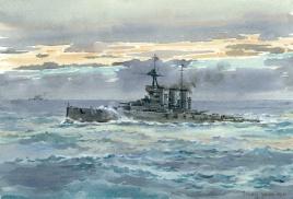 HMS TIGER, 1919