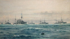 THE 1ST CRUISER SQUADRON 1908