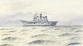 HMS ILLUSTRIOUS, 2008