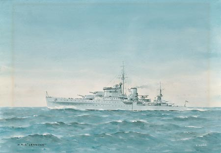 HMS LEANDER IN THE 1930S