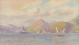 HMS REPULSE OFF RIO DE JANEIRO, SEPTEMBER 1922