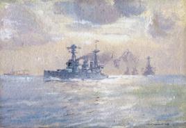 THE BATTLE CRUISER HMAS AUSTRALIA, 1919