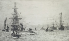 SUBMARINES IN PORTSMOUTH HARBOUR