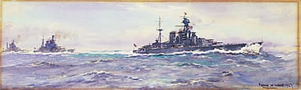HMS HOOD AND THE 1st BATTLE CRUISER SQUADRON, 1927