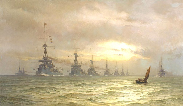 THE FIRST BATTLE SQUADRON OF DREADNOUGHTS, 1910