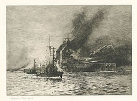 HMS QUEEN ELIZABETH AT THE TIME OF THE DARDANELLES