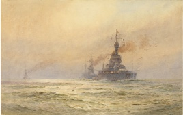 HMS KING GEORGE V and the 3rd Battle Squadron