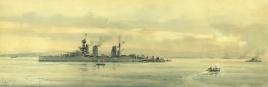 HMS LION at Scapa December 1918