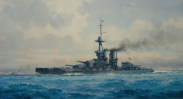 HMS IRON DUKE during World War 1: C-in C's flagship