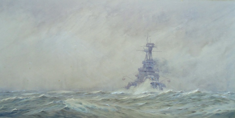 Grand Fleet Dreadnought Keeping the Seas - HMS TEMERAIRE