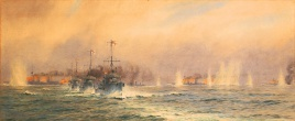 The Battle of Jutland: destroyers unleashed as HMS QUEEN MARY blows up