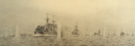 The Fifth Battle Squadron at Windy Corner, Jutland, May 31st 1916
