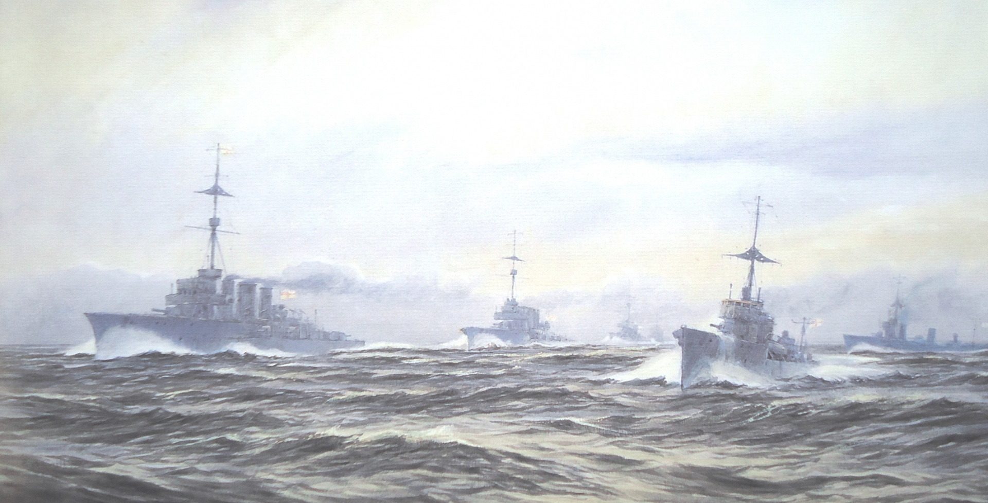 Grand Fleet escorts, World War 1