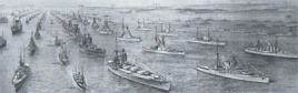 JUBILEE REVIEW OF THE FLEET 1935 - PANORAMA
