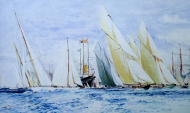 Cowes Week and the Royal Yacht:
