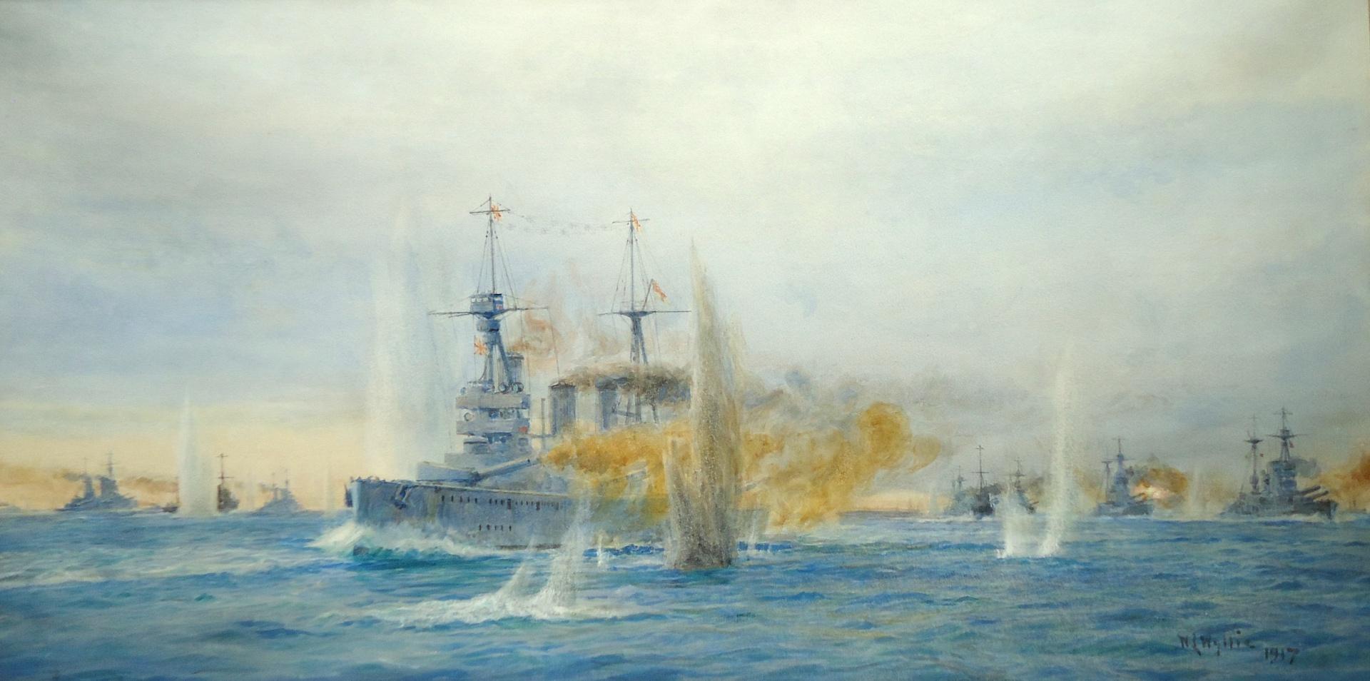 Jutland - HMS NEW ZEALAND - The Sixteen Point Turn