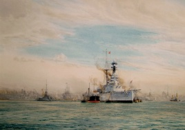 HMS ROYAL SOVEREIGN 1930s