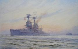 Bellerophon Class battleship, 1920