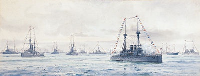 FLEET REVIEW 1911  THE CORONATION REVIEW OF KING GEORGE V
