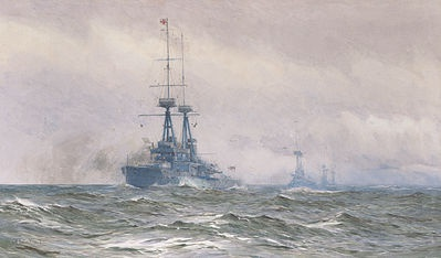 HMS COLLINGWOOD, 1913