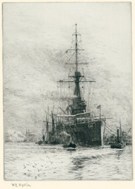 HMS ORION, PORTSMOUTH 1912