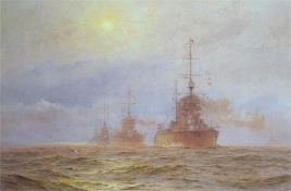 HMS LION AND THE 1ST BATTLE CRUISER SQUADRON , 191
