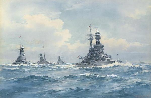 HMS ROYAL OAK, HMS REVENGE, HMS ROYAL SOVEREIGN, a