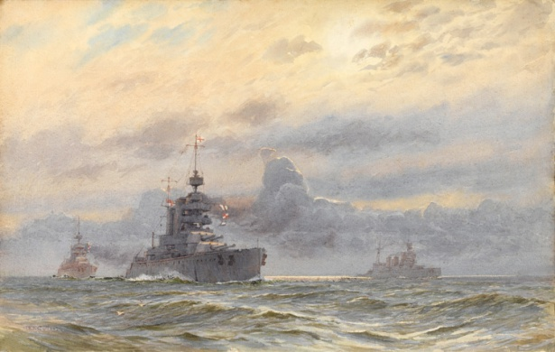 HMS LION, PRINCESS ROYAL AND NEW ZEALAND