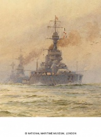HMS KING GEORGE V and the 3rd Battle Squadron Home