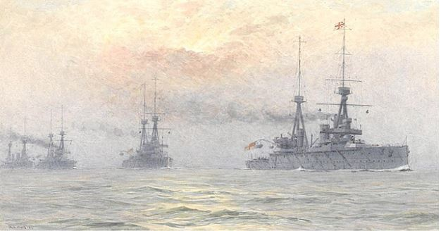 HMS INDOMITABLE, INFLEXIBLE, INVINCIBLE AND INDEFATIGABLE, 1911