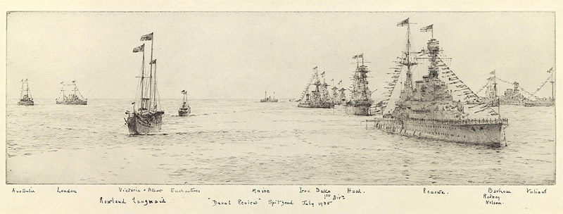 FLEET REVIEW 1935  SILVER JUBILEE: THE HEAVY SQUADRONS AT ANCHOR